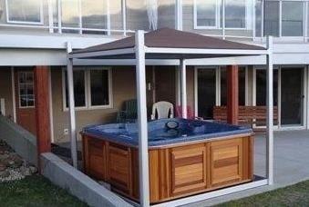 patio hot tub cover gazebo